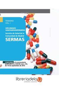 ag-diplomado-sanitarioenfermera-del-servicio-de-salud-de-la-comunidad-de-madrid-sermas-temario-voli-editorial-cep-sl-9788468145136