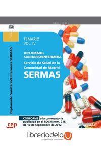 ag-diplomado-sanitarioenfermera-del-servicio-de-salud-de-la-comunidad-de-madrid-sermas-temario-vol-iv-editorial-cep-sl-9788468145211