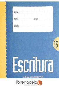 ag-escritura-serie-magenta-13-lamela-9788487383748