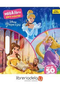 ag-princesas-megalibro-para-colorear-libros-disney-9788499518572