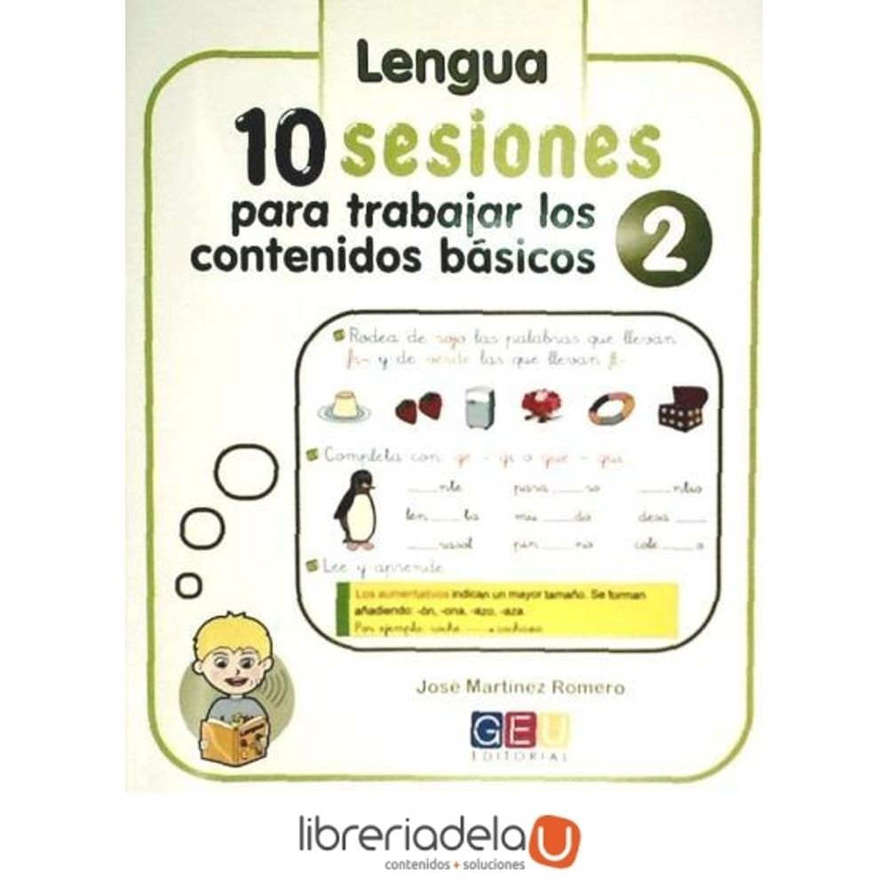 10 Sesiones para trabajar los contenido básicos : lengua y matemáticas 2