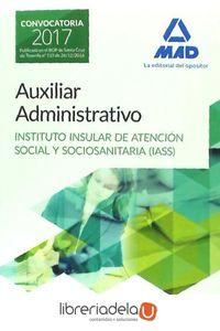 ag-auxiliar-administrativo-instituto-insular-de-atencion-social-y-sociosanitaria-test-y-supuestos-practicos-editorial-mad-9788414204344