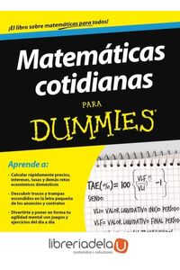ag-matematicas-cotidianas-para-dummies-para-dummies-9788432900754