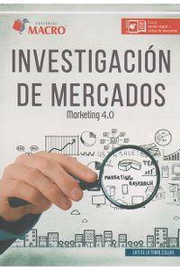 Investigación de mercados  Marketing 4 0