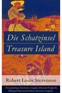 bw-die-schatzinsel-treasure-island-zweisprachige-illustrierte-ausgabe-deutschenglisch-bilingual-illustrated-edition-germanenglish-eartnow-9788026814740