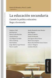 bm-la-educacion-secundaria-mino-y-davila-editores-9788417133085