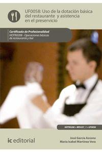 bm-uso-de-la-dotacion-basica-del-restaurante-y-asistencia-en-el-preservicio-hotr0208-operaciones-basicas-del-restaurante-y-bar-ic-editorial-9788416271948