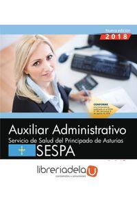 ag-auxiliar-administrativo-servicio-de-salud-del-principado-de-asturias-sespa-simulacros-de-examen-editorial-cep-sl-9788417632571