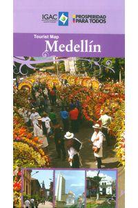 tourist-map-medellin-9789588323688-igac