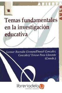 ag-temas-fundamentales-en-la-investigacion-educativa-editorial-la-muralla-sa-9788471337443