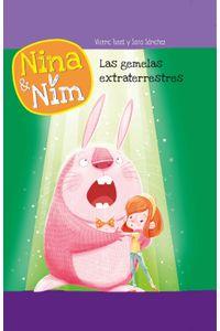 lib-las-gemelas-extraterrestres-serie-nina-y-nim-penguin-random-house-9788448847203