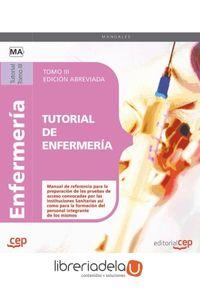 ag-tutorial-de-enfermeria-tomo-iii-edicion-abreviada-en-blanco-y-negro-editorial-cep-sl-9788468115269