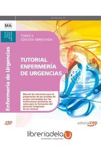 ag-tutorial-enfermeria-de-urgencias-tomo-ii-edicion-abreviada-editorial-cep-sl-9788468116990