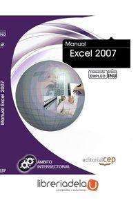 ag-manual-excel-2007-formacion-para-el-empleo-editorial-cep-sl-9788468141053