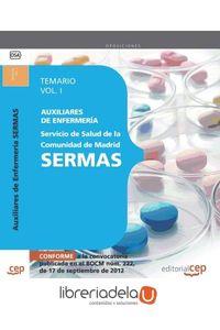 ag-auxiliares-de-enfermeria-del-servicio-de-salud-de-la-comunidad-de-madrid-sermas-temario-vol-i-editorial-cep-sl-9788468145174