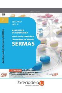 ag-auxiliares-de-enfermeria-del-servicio-de-salud-de-la-comunidad-de-madrid-sermas-temario-vol-ii-editorial-cep-sl-9788468145181