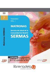 ag-matrona-del-servicio-de-salud-de-la-comunidad-de-madrid-sermas-temario-vol-i-editorial-cep-sl-9788468145235